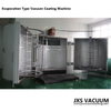 Double Doors Plastic Chrome Vacuum Metalizing Machine Cost