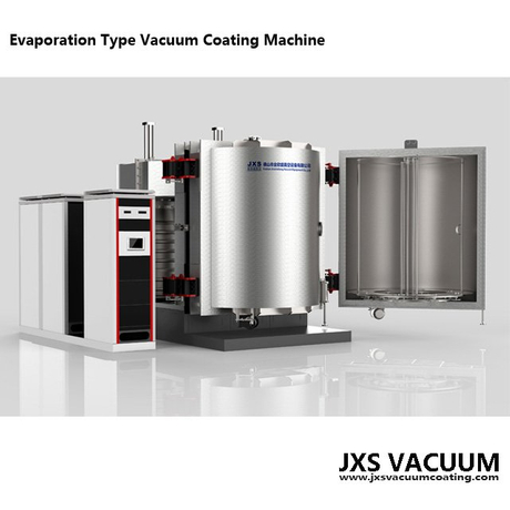 Vertical Double Doors Plastic Cosmetic Cap Vacuum Metallizing Machine